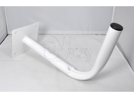 Кронштейн для антенны (30 см*20 см, d=3 см) белый