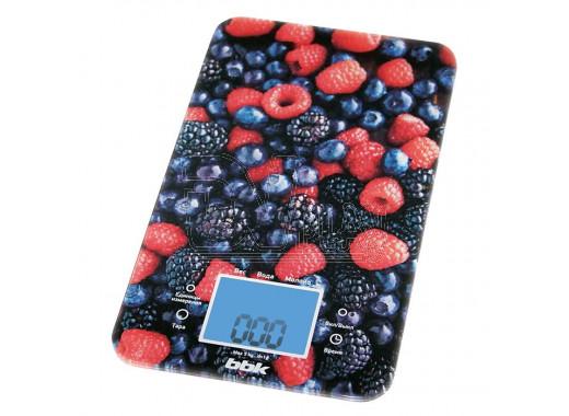 Электронные весы кухонные BBK KS107G сине-красные