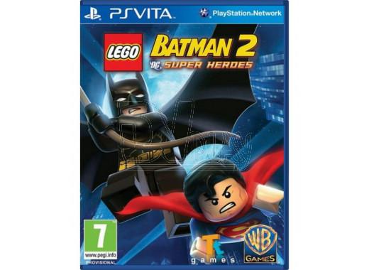 LEGO Batman 2: DC Super Heroes (русские субтитры) (PS VITA)