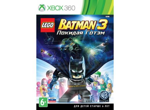 LEGO Batman 3: Покидая Готэм (русские субтитры) (XBOX 360)