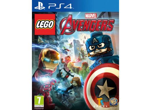 Lego Marvel Мстители (русские субтитры) (PS4)