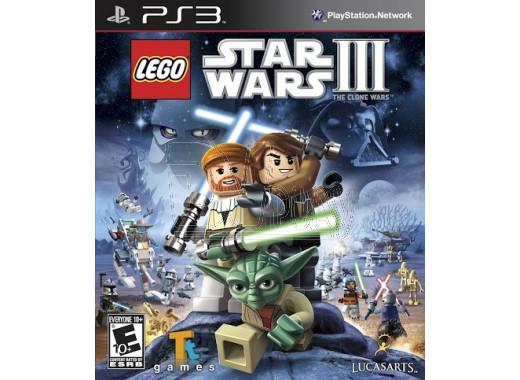 LEGO Star Wars III: The Сlone Wars (PS3)