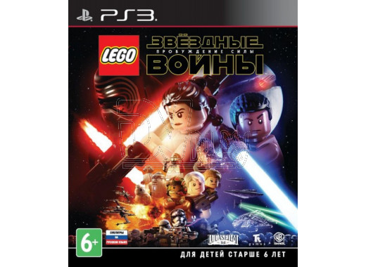 LEGO Звездные войны: Пробуждение Силы (русские субтитры) (PS3)