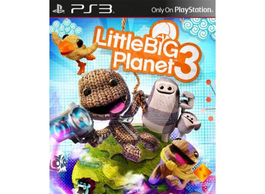 LittleBigPlanet 3 (русская версия) (PS3)