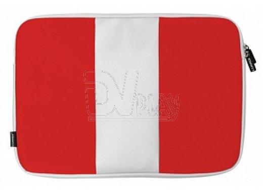 """Папка для ноутбука 15.4"""" Luardi красно-белая"""