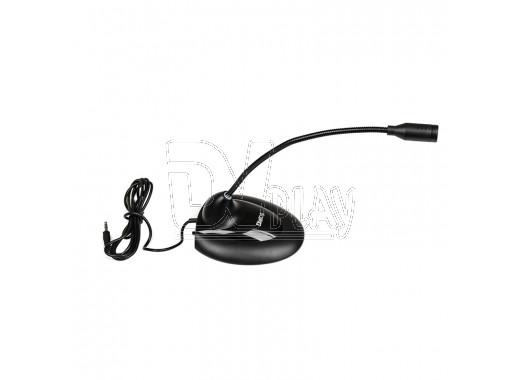 Микрофон Dialog M-140B черный на гибком основании