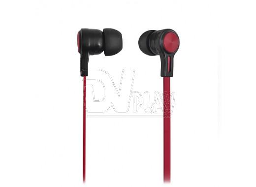 Наушники GAL M-011br черно-красные