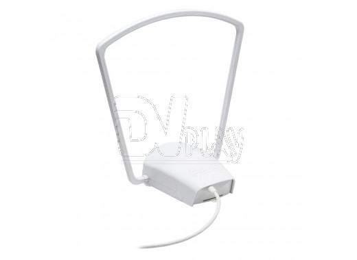Комнатная активная антенна REMO mini-digital (БП, на стекло)