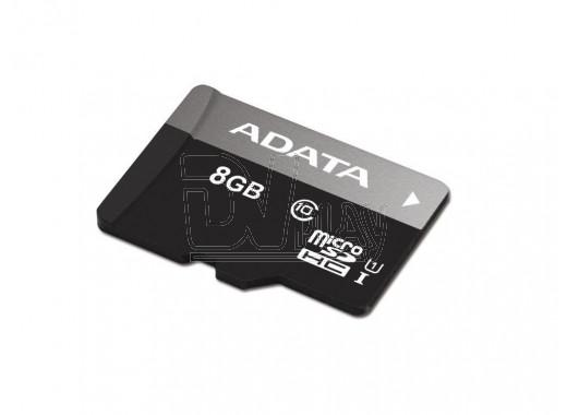 microSD 8Gb A-Data Class 10 Premier UHS-I без адаптера