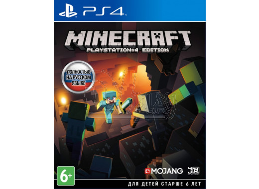 Minecraft. Playstation 4 Edition (русская версия) (PS4)