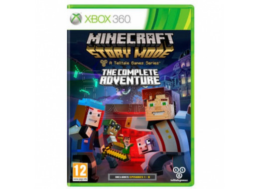 Minecraft Story Mode - The Complete Adventures (русские субтитры) (XBOX 360)