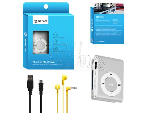 MP3 Dream Mini Clip серебро