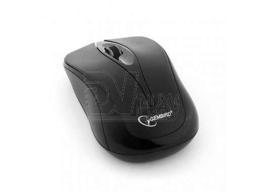 Мышь беспроводная Gembird MUSW-325-BK черная
