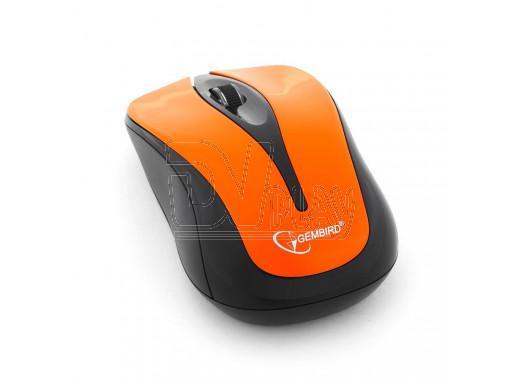 Мышь беспроводная Gembird MUSW-325-O оранжевая