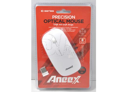 Мышь Aneex E-WM441 белая