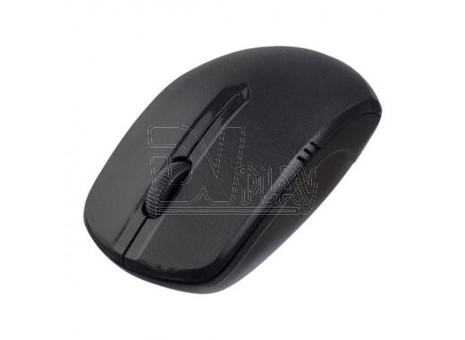Мышь беспроводная Perfeo Plan черная