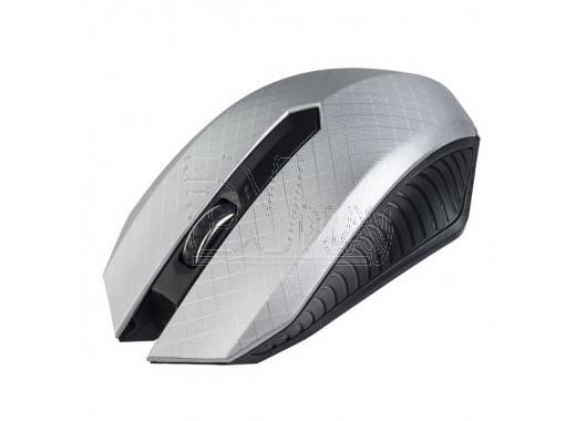 Мышь беспроводная Perfeo Switch серебряная