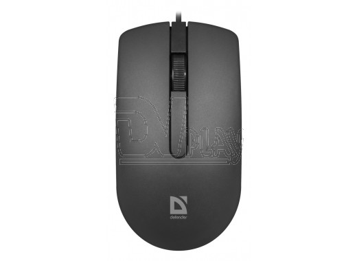 Мышь Defender MB-210 Office USB черная