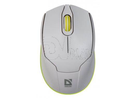 Мышь Defender MB-865 Genesis бело-зеленая