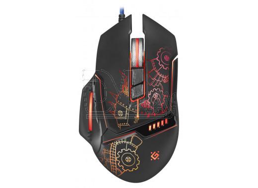Мышь игровая Defender Kill'em All GM-480L с подсветкой