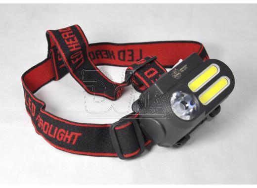 Налобный фонарь аккумуляторный YB-1071