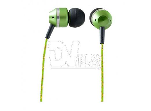 Наушники Perfeo Tangle зеленые