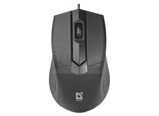 Мышь Defender MB-270 Optimum USB черная