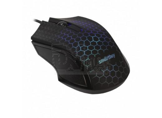 Мышь Smartbuy 334 USB черная с подсветкой