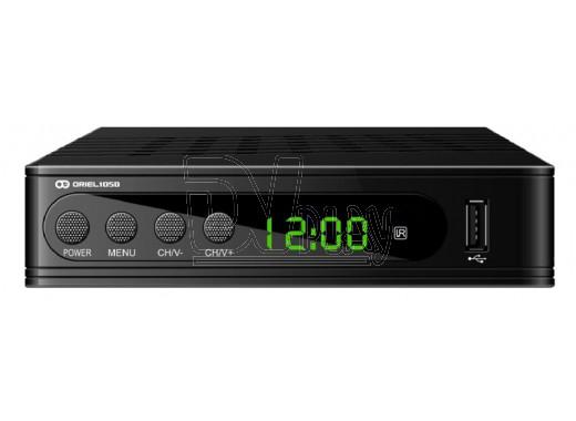 Oriel 105D ресивер DVB-T2 с дисплеем