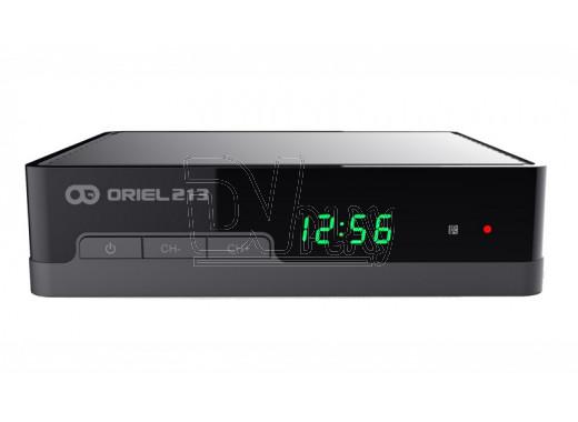Oriel 213 ресивер DVB-T2 с дисплеем