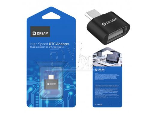 Переходник Dream microUSB (M) - USB (F) OTG
