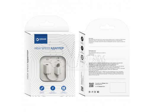 Переходник Dream USB Type-C (M) - 3.5 Jack (F)