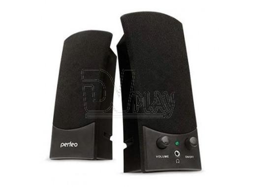 Perfeo Uno акустика 2.0 черная