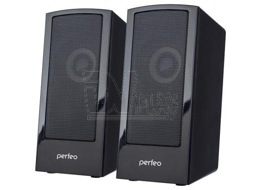 Perfeo CALIBR акустика 2.0 черная USB