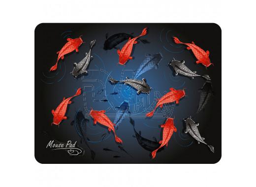 Коврик Dialog PM-H17 черный с рыбками