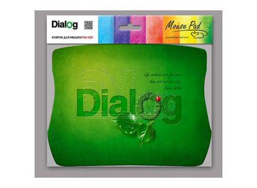 Коврик Dialog PM-H20 зеленый