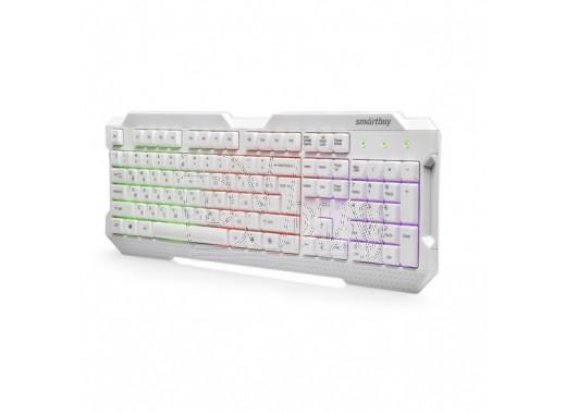 Клавиатура Smartbuy 332 белая с подсветкой