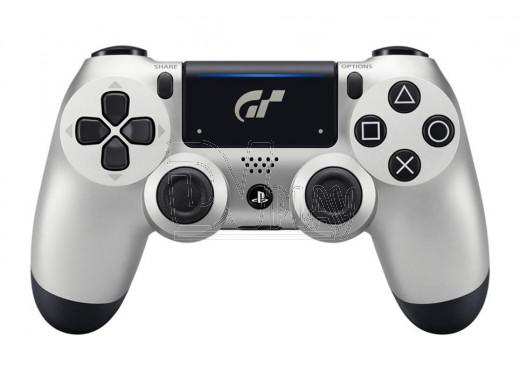 Джойстик DualShock 4 v.2 серебряный Gran Turismo