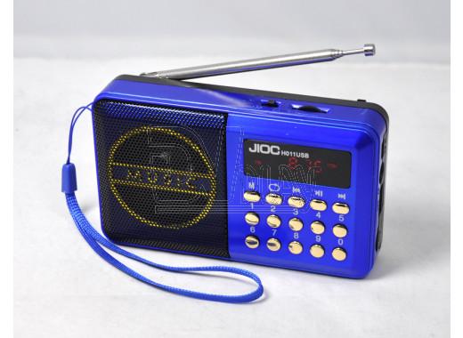 Радиоприемник Jioc H-011 (Дисплей\USB\microSD\АКБ18650)