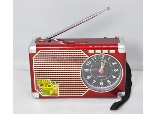 Радиоприемник Meier M-203U (USB\SD\MP3\часы)