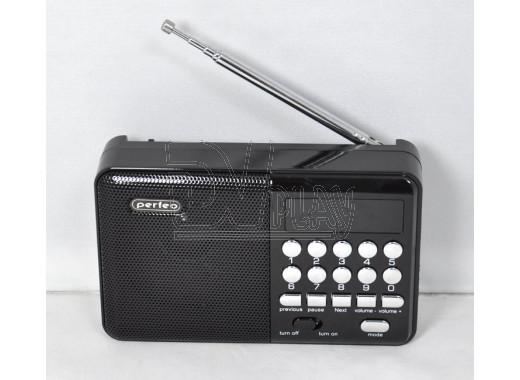 Радиоприемник Perfeo Palm черный