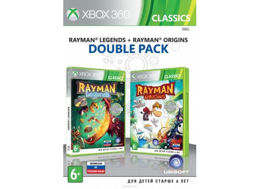 Rayman Legends + Rayman Origins (русская версия) (XBOX 360)