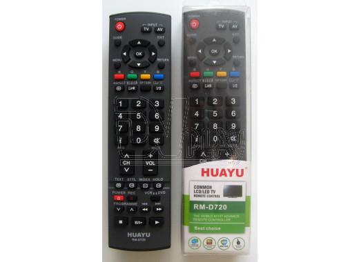 Пульт Д/У HUAYU для Panasonic RM-D720 универсальный