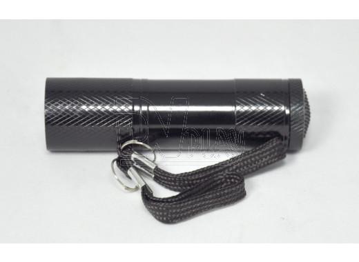 Ручной фонарь на батарейке 9 диодов