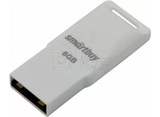 USB Flash 8Gb Smart Buy Funky белая
