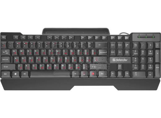 Клавиатура Defender Search HB-790 черная