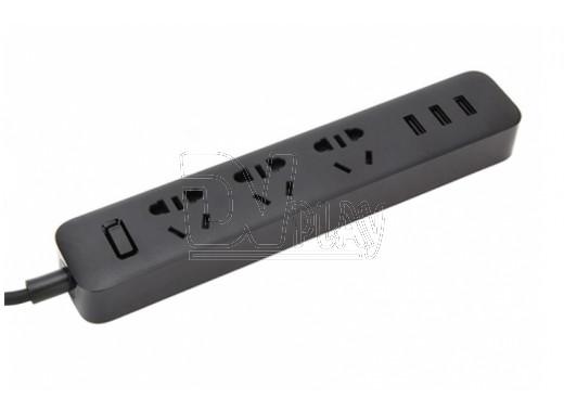 Сетевой фильтр Xiaomi Mi Power Strip 3 Sockets черный