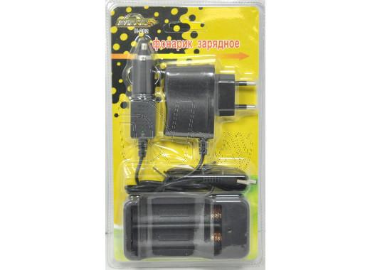 Зарядное устройство сетевое и автомобильное для 2-х аккумуляторов