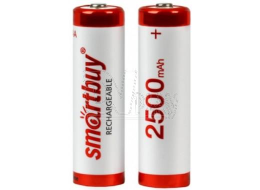 Аккумуляторы Smartbuy HR6 2500mAh NiMH BL2 AAв упаковке 2 шт