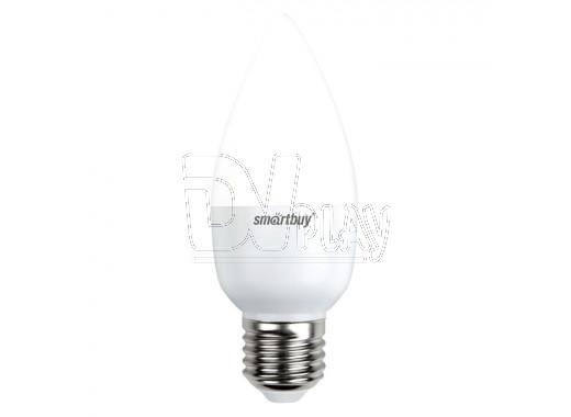 Светодиодная Лампа Smartbuy C37 Е27 7Вт белый свет